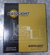 used katolight kw40 john deere diesel generator sle equipment