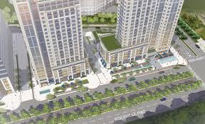 new renderings show high rise planned for white flint bethesda