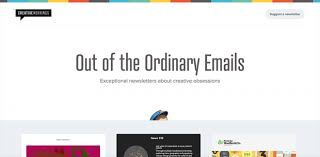 email newsletter inspiration hand picked by mailchimp