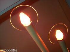 vintage electric candles halo 8 light 1957