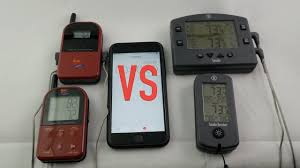 Backyard Grill Wireless Thermometer by Thermoworks Smoke Vs Maverick Best Bbq Thermometer Ever