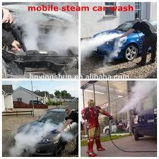 Interior Steam Clean Car 2015 Ce 30 Bar Diesel Type Industrial High Pressure Car Steam