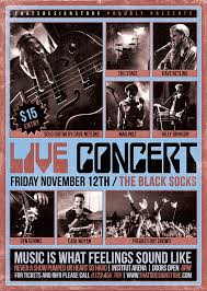 live concert flyer template v 10 that u0027s design store