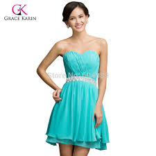 aliexpress com buy grace karin turquoise cocktail dresses 2017