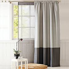 2 Tone Curtains The Two Tone Curtain For A Room With High Ceilings