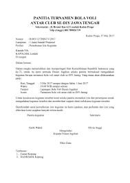 format artikel yang benar download contoh surat tembusan yang benar