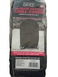 amazon com backyard grill 30 inch kettle grill cover patio