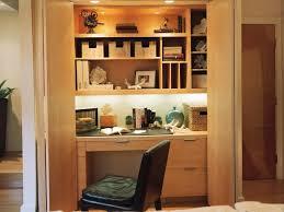 hidden office desk photo page hgtv
