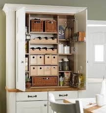 Food Storage Cabinet Kitchen Cabinet Standing Kitchen Pantry Shallow Pantry Cabinet