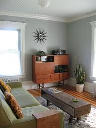 Best  Mid Century Living Room Ideas On Pinterest Cabinet - Contemporary green living room design ideas
