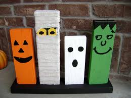 wooden halloween decorations diy halloween decorations scary also