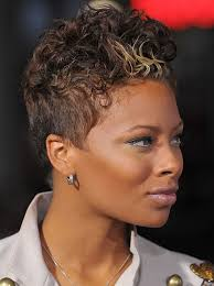 black women low cut hair styles trendy african american short haircut eva s haircut with curly