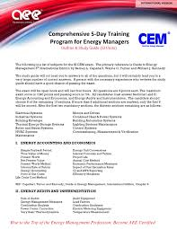 cem international association of energy engineers