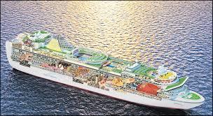 ventura u0027s sister ship azura will hold 3 100 passengers daily echo