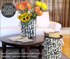 home decor storage tall bold storage bins home decor at fabric depot sew4home