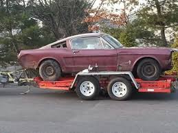mustang project cars for sale 1966 ford mustang fastback project car for sale in camden