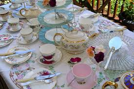 tea party table table decorations for tea party