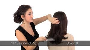 pro extensions easixtend pro human hair extensions 12 14 16 how to apply