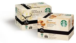 starbucks flavored k cups packs