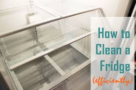 how to clean a refrigerator interior designs