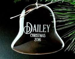 Etched Glass Ornaments Personalized Custom Crystal Heart Ornament Personalized Christmas