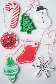 frugal holidays diy clay baked ornaments 5 inexpensive