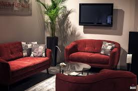 red living room furniture 30 bright and comfy sofas that add color to the living room