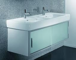 Glass Bathroom Vanity Glass Vanity Units Bathroom My Web Value