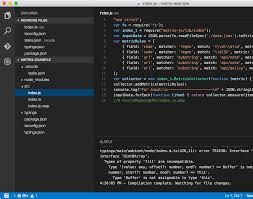 Visual Studio Code Map Typescript For Node Js Using Visual Studio Code Memz Co