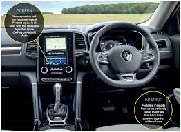 renault kadjar automatic interior on the road renault koleos in depth road test review