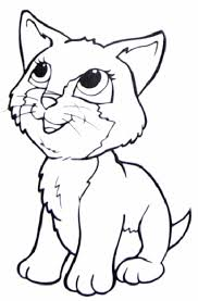 coloring pages of dogs and cats free image