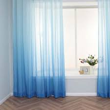 Ombre Sheer Curtains Popular Of Blue Ombre Curtains And Ombre Gradient Sheer Curtain