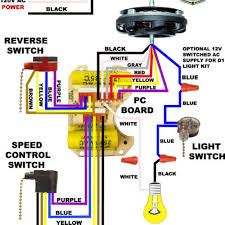 hampton bay ceiling fan wiring schematic integralbook com