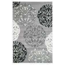 White And Gray Area Rug Gray Area Rugs 8 10 U2013 Elliptical