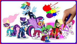 mlp power ponies coloring book my little pony coloring pages