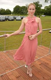 Challenge Emily Emily Blunt Audi Polo Challenge Day In