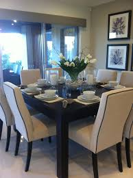 Best  Square Dining Tables Ideas On Pinterest Custom Dining - Dining room table decorations pinterest