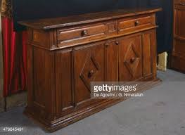 Walnut Sideboard Walnut Sideboard Italy 15th Century Stock Photo Getty Images