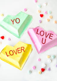 hearts candy make your own conversation hearts candy boxes by lindi haws of
