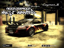 2005 porsche cayman s need for speed most wanted 2005 porsche cayman s challenging