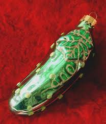 christmas pickle history of christmas pickles lovetoknow