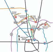 atascocita map branch locations investex credit union