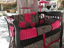 Animal Print Crib Bedding Sets Pink Leopard Nursery Bedding Set Pink And Animal Print Crib