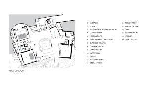 princeton university floor plans lewis arts complex at princeton university by steven holl architects