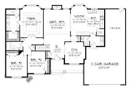One Car Garage Plans European Style House Plan 4 Beds 50 Baths 4495 Sqft 70 1129 1