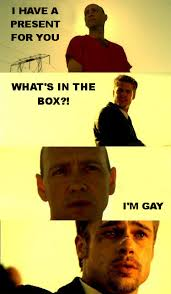 Whats In The Box Meme - what s in the box meme