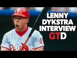 Lenny Dykstra I Think I - lenny dykstra it was hard for players not to take peds game time