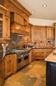 rustic wood kitchen cabinets how to decorate around wood kitchen cabinets