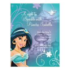 custom birthday invitations top 10 disney princess custom birthday invitations