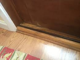 Patio Door Sill Salvage Or Replace Rotting Sliding Door Sill Building